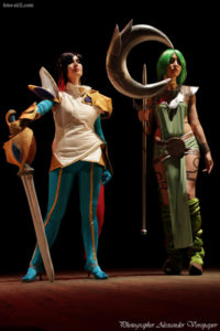 Fiora, Soraya, League of Legends, anime fest, cosplay, comiccon, Natsu Nami