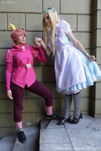 Prince Bubblegum, Adventure Time, Alice, Alice in Wonderland, anime fest, cosplay, cmiccon, Natsu Nami