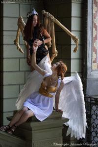 angel and demons, anime fest, cosplay, comiccon, Natsu Nami