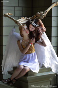 angel and demons, anime fest, cosplay, comic con, Natsu Nami