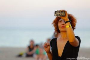 Koktebel Jazz Festival, Джаз Коктебель 2016, красивая девушка, море, пляж, селфи