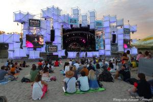 Koktebel Jazz Festival, Джаз Коктебель 2016, зрители, сцена