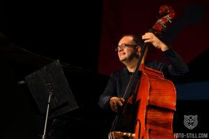 одесса джаз фест, одесса джазфест, Esja, фото, одеса джаз фест, одесаджазфест, контрабасист играет на контрабасе,