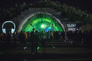 Silent Disco on Open Er Festival 2018