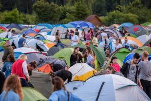 Camping on Open Er Festival 2018