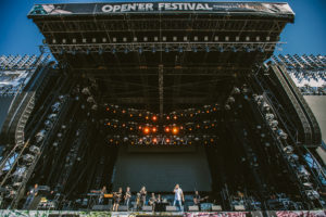 Orange stage on Open Er Festival 2018