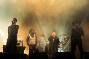 Young fathers on OPEN ER festival 2018