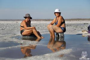 куяльник соль лечебная грязь женщина