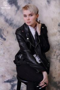 Портретная фотосессия, студийная фотосессия, портрет, классический портрет, косуха,